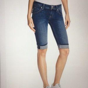 Hudson Malibu Capri Cuffed Jeans 27